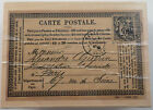 Carte Postale All Night Media French Ephemera Wood Rubber Stamp 485J22