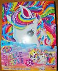 New Lisa Frank Rainbow Majesty Puzzle Keeper Set 3 Pack Stickers