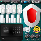 wired WiFi GSM Alarm System Home Security + Necklace Panic Button