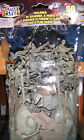 50 piece 2 Inch Toy Plastic Army Men Soldiers/Includes 2 Tanks&Barriers/Stickers