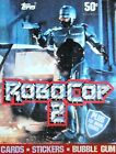 1990 ROBOCOP 2 FULL BOX OF MOVIE TRADING CARDS Future of Law Enforcement @LOOK@