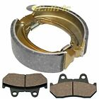 FRONT BRAKE PADS & REAR BRAKE SHOES Fits HONDA CMX450C Rebel 450 1986 1987