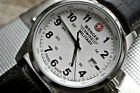 WENGER GENUINE SWISS ARMY MILITARY TIME MENS FIELD ISSUE TERRAGRAPH WATCH $225