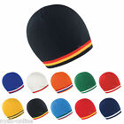 NEW NATIONAL BEANIE HAT EURO 2020 COLOURS SKULL CAP MENS WOMENS PLAIN FLAG