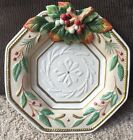 Fitz & Floyd Classics WINTER WONDERLAND Christmas Canapé Holiday Serving Plate