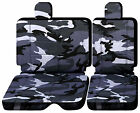 Cc Front Or Rear Bench 4060 W Headrest Car Seat Covers Choose 0ver 20 Colors