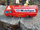 VINTAGE TIN FRICTION MOBILGAS TANKER TRUCK MADE IN JAPAN VERY NICE LOOK !!!