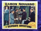 Ramon Novarro 1938 in Desperate Adventure with Marian Marsh  Last Starring Role