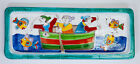 NEW DE SIMONE TRAY - 55x22 CM - CERAMIC HAND PAINTED - MADE IN ITALY