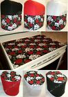 Custom Quilted Skulls  Roses Cover Set for Kitchen Countertop Appliances