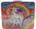 Lisa Frank 100pz Puzzle in Embossed Carry All Tin Box