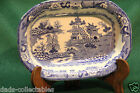 Ceramic Masons England Patent Ironstone China Blue White Octagon Oriental Bowl