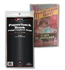 100 BCW Paperback Book 2 Mil Poly Bags 5 x 7 3 8 Archival Safe Acid Free
