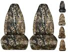 CC front set car seat covers camo tree wetland digital fits wrangler YJ TJ LJ