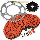Orange O-Ring Drive Chain & Sprockets Kit for KTM 525 Exc Sx 2003-2006