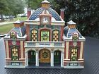 Deluxe porcelain lighted house, heartland valley village (TOWN HALL )Limited Edi