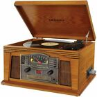 Crosley CR42C-OA Retro Turntable 3 Speed Lancaster Musician W/Built-in Speakers
