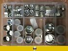64 PC ORFS ORing Plug and Cap Hydraulic Flat Face Seal Fittings ORS Kit 4 16
