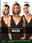LH NICKY - THE WIG BRAZILIAN HUMAN HAIR BLEND INVISIBLE PART LACE FRONT WIG