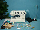 NECCHI HEAVY DUTY Sewing Machine + WALKING FOOT Sew LEATHER UPHOLSTERY CANVAS