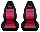 Cc Fits Jeep Cherokee Front Car Seat Coversblacktancharcpink .25 Colors