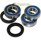 Rear Wheel Ball Bearings Seals Kit for Kawasaki ZR1000 Z1000 2003 2004 2005-2009