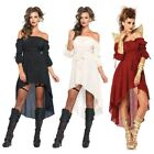 Peasant Dress Adult Medieval Renaissance Pirate Gypsy Costume Fancy Dress