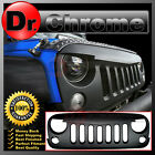 Angry Bird Front Grille Shell 07 16 Jeep Wrangler JK Paintable Matte Black 2016