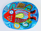 NEW DE SIMONE OVAL DISH - 44x34 CM - CERAMIC HAND PAINTED - MADE IN ITALY