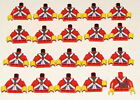 LEGO LOT OF 20 NEW IMPERIAL PIRATE MINIFIGURE TORSOS BODY PARTS PIECES
