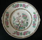 Vintage INDIAN TREE PLATTER/TRAY/Handled PLATE by John Maddock England
