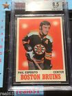 1970-71 Topps #11 PHIL ESPOSITO Hockey Card | BVG 8.5 NM-MT+ | None Scarcer