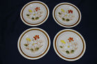 Daniele Collection Trailride Floral Japan Stoneware dessert  bread Plates x 4