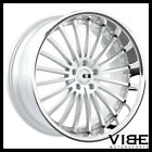 20 XO NEW YORK SILVER CONCAVE WHEELS RIMS FITS LEXUS ISF