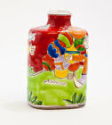 NEW DE SIMONE BOTTLE - 17 CM - CERAMIC HAND PAINTED - MADE IN ITALY
