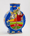 NEW DE SIMONE BOTTLE - 20 CM - CERAMIC HAND PAINTED - MADE IN ITALY