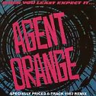 AGENT ORANGE-WHEN YOU LEAST EXPECT IT CD NEW