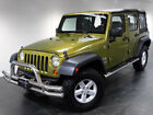 Jeep : Wrangler 4WD 4dr Unlimited X 2008 jeep wrangler unlimited x 4 wd black soft top running b aux cd a c 1 owner
