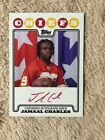 2008 Topps Rookie Premiere #RPA-JC Jamaal Charles RC RED Auto !!!