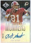 2013 Limited Art Monk Monikers Auto 9 10 Redskins HALL OF FAME CLASS OF '08 JETS