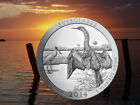 2014 5 Oz US Mint 999 Silver America Beautiful Everglades 25c Coin Uncirculated