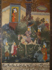 ANTIQUE PERSIAN PAINTING ILLUMINATED PAGE FROM A BOOK
