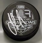 JEFF CARTER Signed LOS ANGELES KINGS 2014 STANLEY CUP CHAMPIONS PUCK! 1005939