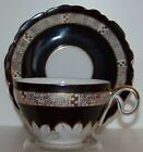 Occupied Japan Ucagco Fancy China Demitasse Tea Cup And Saucer Set
