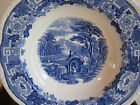 Antique Staffordshire Blue and White Transferware Bowl  10