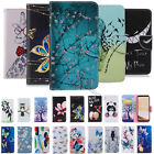 For Samsung Galaxy Note 5 S6 Note8 Wallet Flip Magnetic Pattern Stand Case Cover