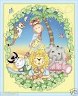 BAZOOPLES fabric panel QUILT TOP BABY SWEET DREAMS BAZOOPLE fabric panel BTP NEW