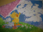 Vintage {NEW} 15x17 Little Suzy's Zoo Plush Security Blanket Baby Lovey {Fabric}