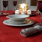 Gibson Imperial Braid China White 98 pc Setting for 12 Dinnerware Christmas Set