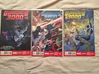 Guardians 3000 (Guardians Of The Galaxy) #1,#2,#3 Series - Marvel Now